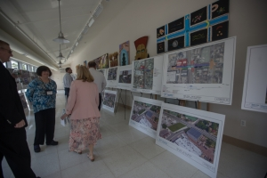 Project displays at the Yes We Can Community Center in Westbury - May 24, 2016