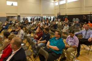 Approximately 1,200 people attended the Public Scoping Meetings