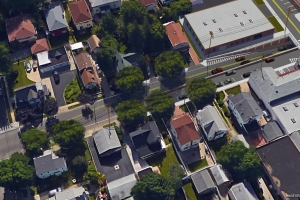 """<span class=""""crossing tag""""/>Illustrative Rendering of Covert Avenue Crossing (Aerial View)"""