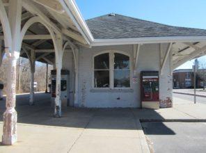 East Hampton Station Before Enhancements