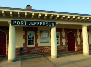 Port Jefferson Station Before Enhancements