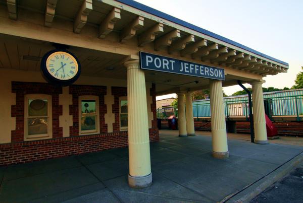 Port Jefferson Station Before Enhancements