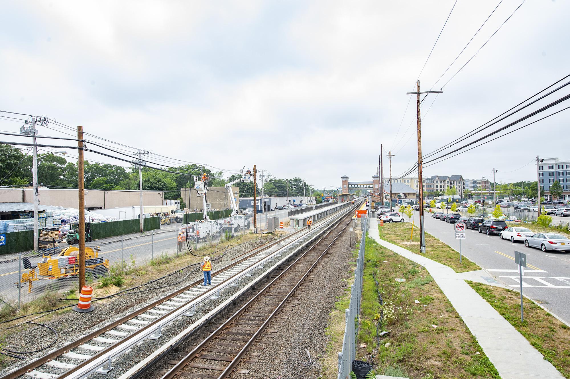 Wyandanch Station Enhancement (Completed 09/2018) - A Modern LI
