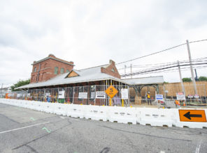 Farmingdale Station Construction Update 08-20-2018