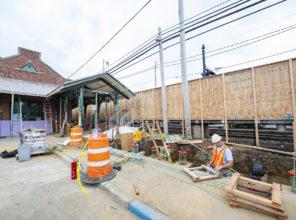 Farmingdale Station Construction Update 08-20-2018