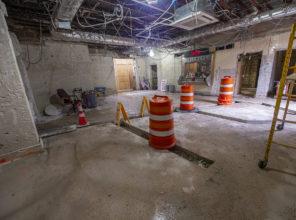 Bellmore Station Under Construction 08-20-2018