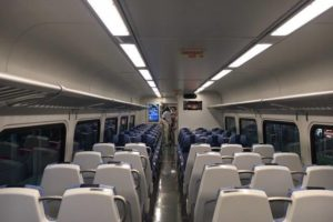 The new M9 Rail cars