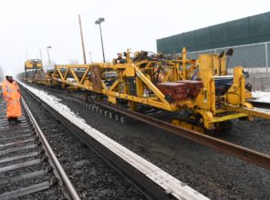 Track Laying Machine, Double Track Project, 01-12-2018