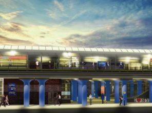Hicksville Station (rendering)