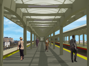 Hicksville Station (rendering)