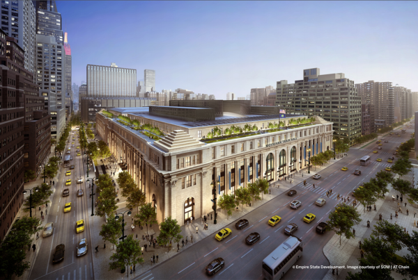 Moynihan Train Hall (rendering)