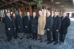 Ronkonkoma Station – Announcement of Mid-Suffolk Train Yard Information Center - 01-29-15