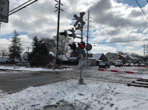 Covert Avenue Grade Crossing 03-11-18