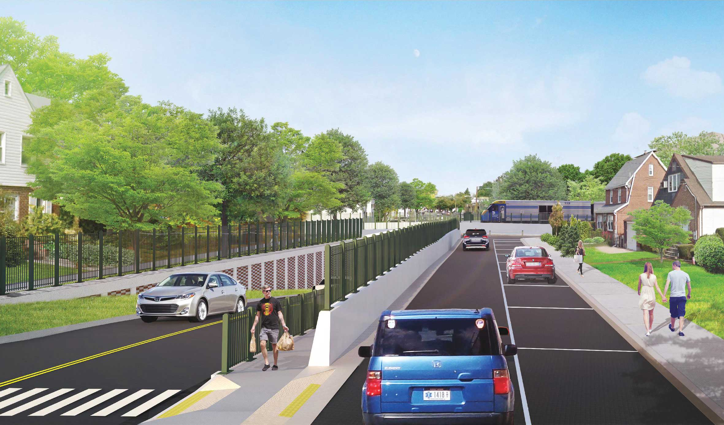 Covert Avenue Grade Crossing Elimination - A Modern LI