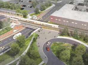 New Hyde Park Road Grade Crossing Elimination (rendering)