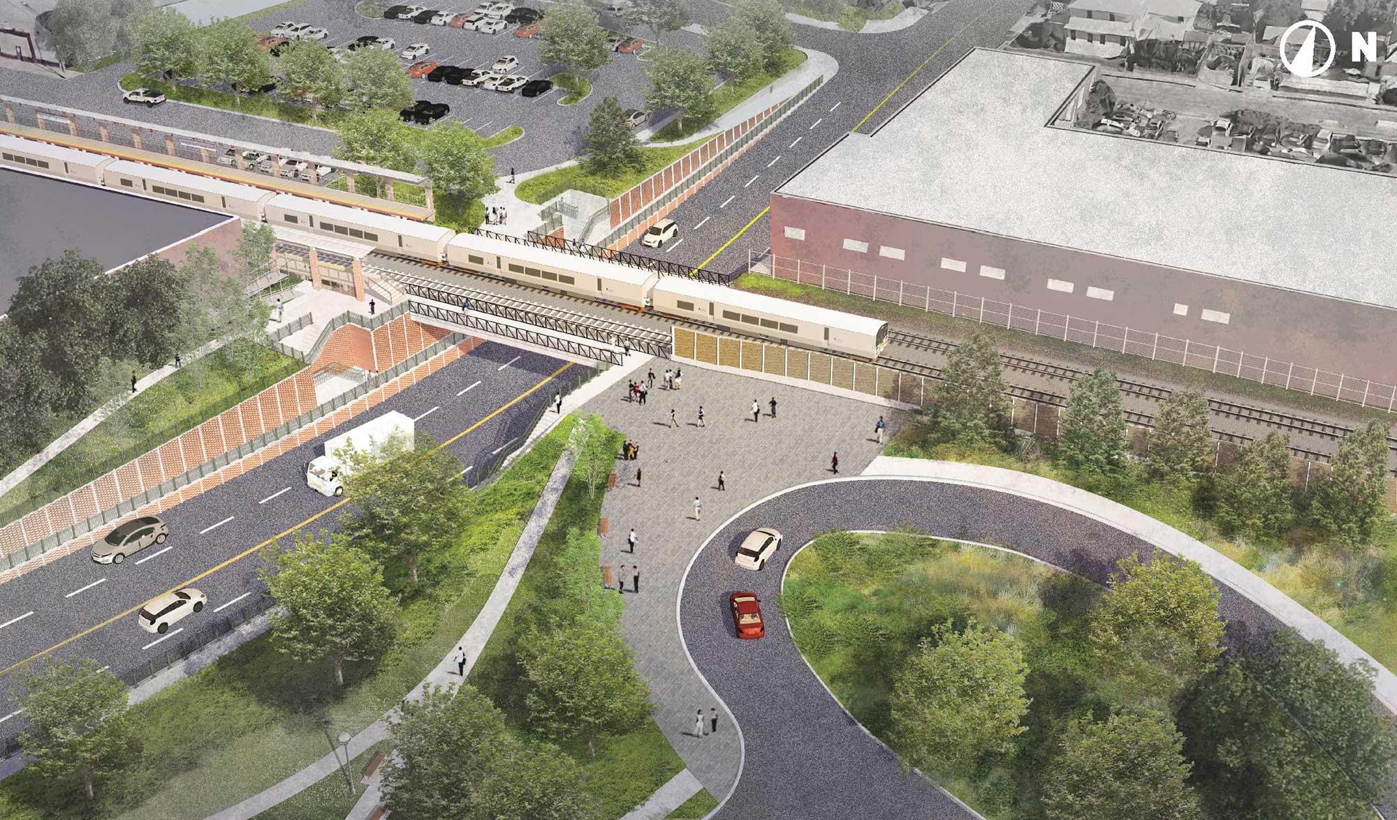 New Hyde Park Road Grade Crossing Elimination - A Modern LI