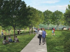 New Hyde Park Road Grade Crossing Elimination (rendering)