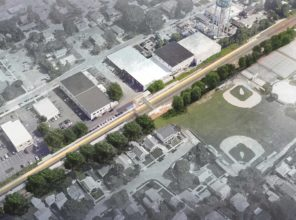 Carle Place Station Enhancement (rendering)