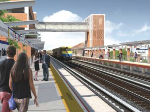 Westbury Station Enhancement (rendering)