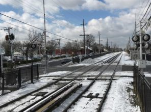 South 12th Street Grade Crossing Prior to Construction