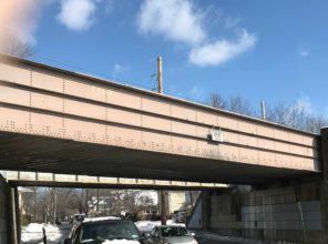 Winter 2018 – Plainfield Ave Bridge Prior to Construction