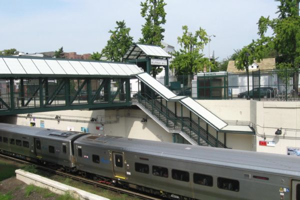 Murray Hill Station prior to enhancements