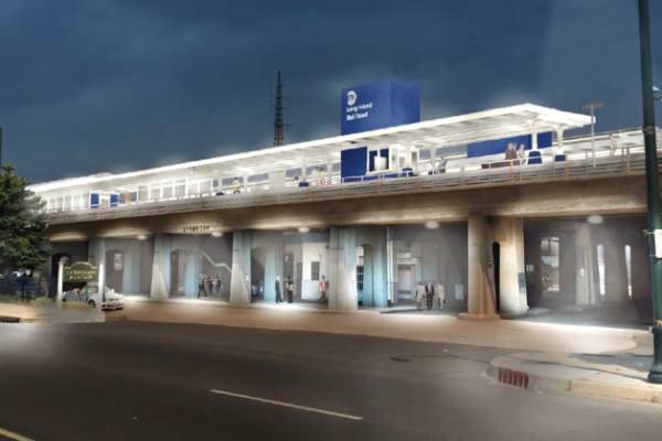 Lynbrook Station Enhancement (rendering)