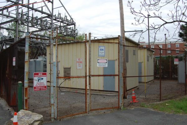 Ocean Avenue Substation Prior to Construction