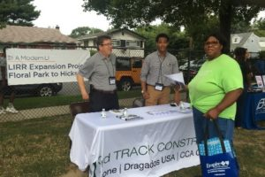 LIRR Expansion Project Team Supports Long Island Community 'National Night Out' Event on August 7th