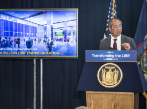 LIRR President Phillip Eng co-announces the Double Track  Opening and Wyandanch Rededication 09-21-2018