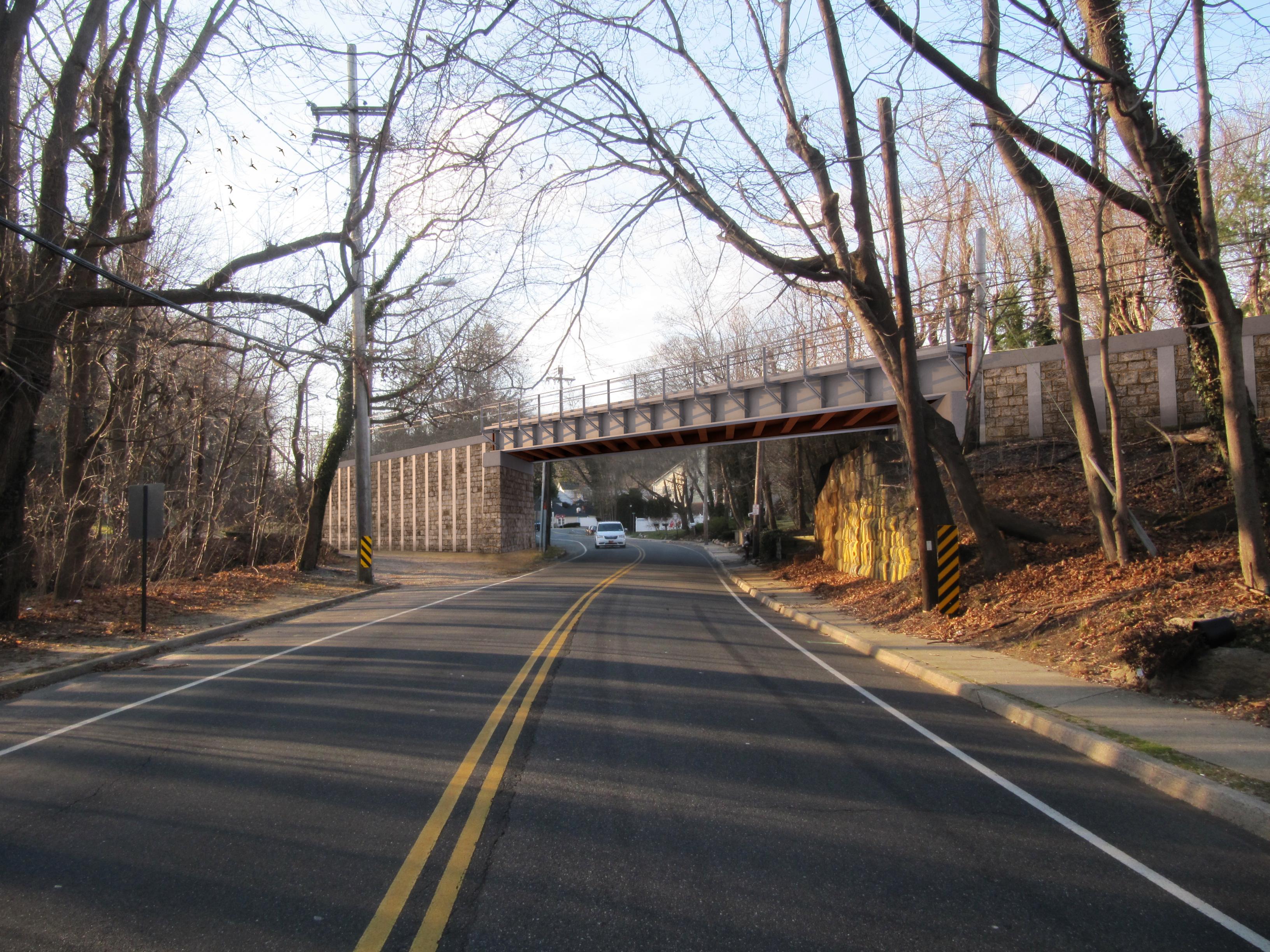 LIRR Buckram Bridge (Rendering)