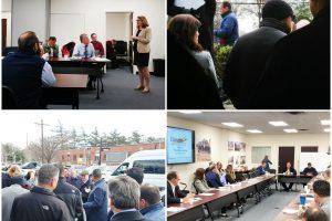 Energia Class Visits LIRR Expansion Project Westbury 11-28-18