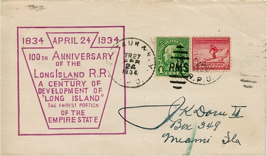 LIRR 100th Anniversary Postcard