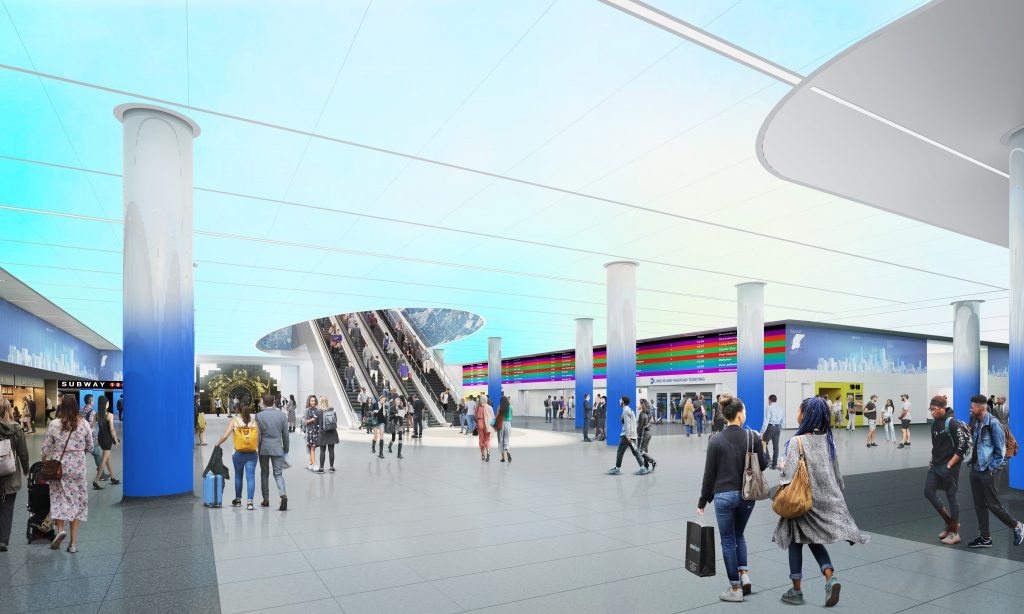 LIRR Train Hall (Rendering) - May 2019