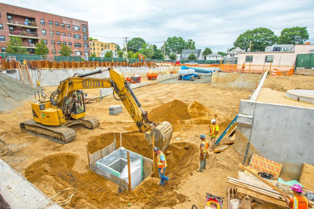 Mineola Harrison Avenue Parking Structure 07-08-19