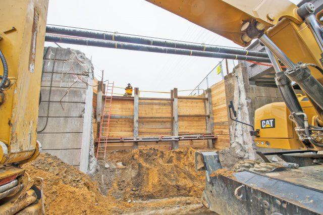 Construction of New South Tyson Avenue Bridge - 07-01-19