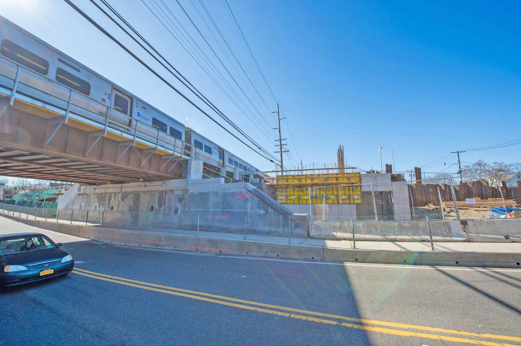 New Merillon Ave Station - 03-03-20