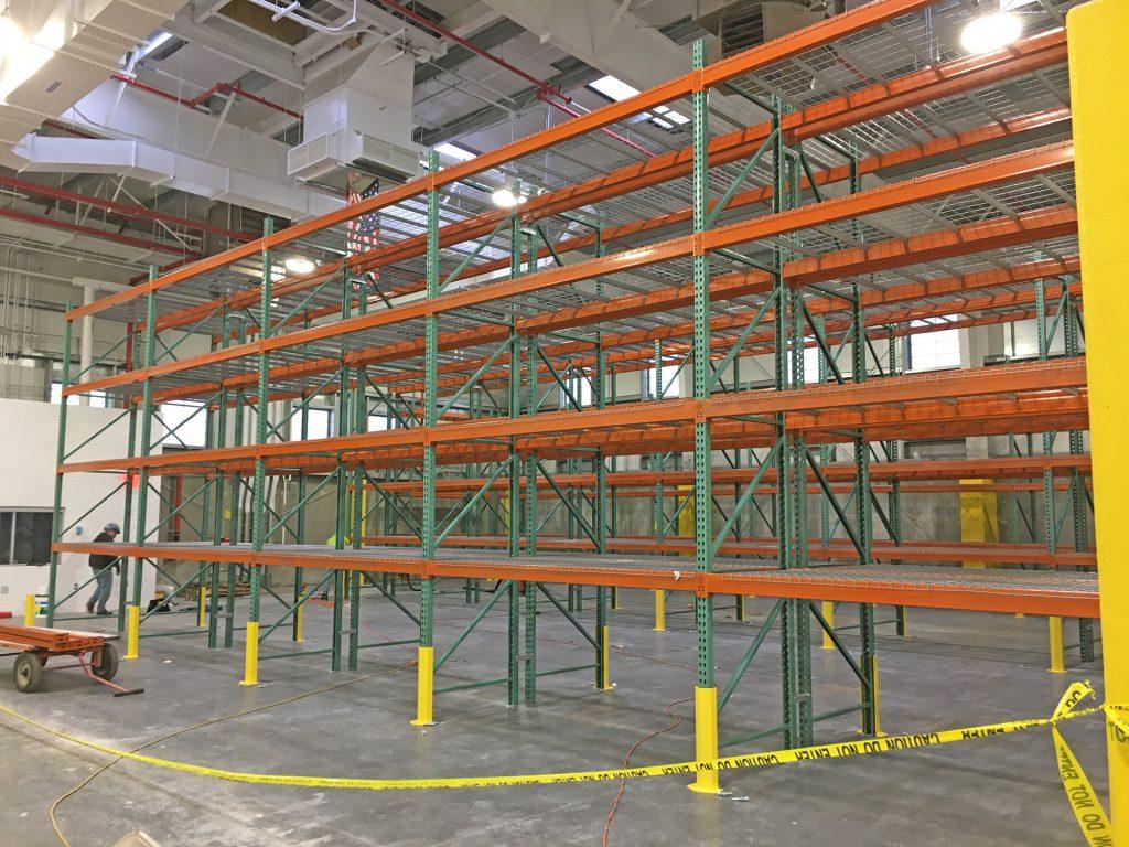 Morris Park Locomotive Shop - Storage Area Racks - Morris Park 11-20-20