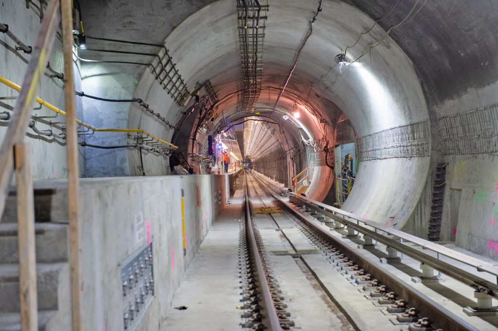 Tunnel leading to East Side Access terminal 05-28-21